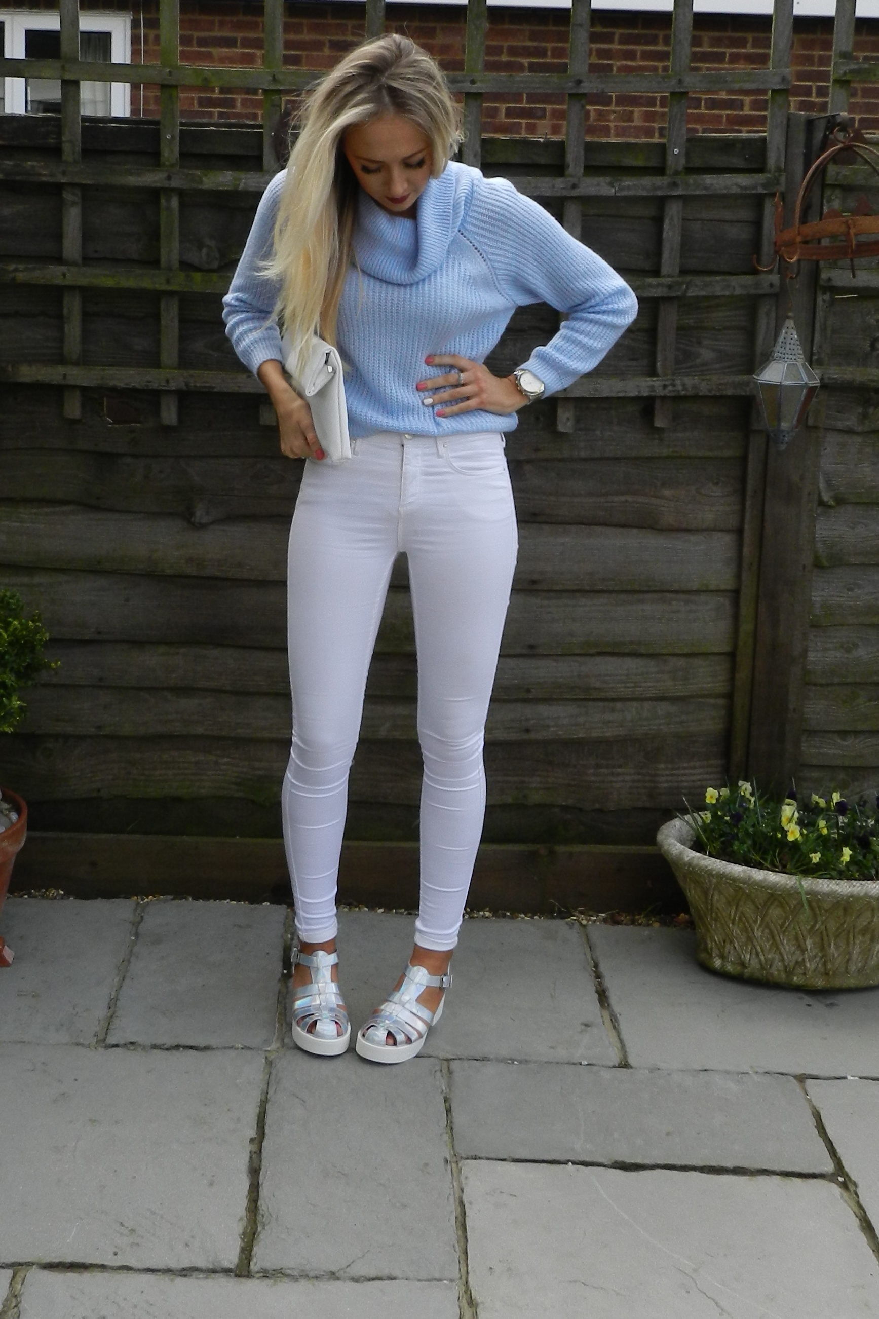 White Leigh Jeans