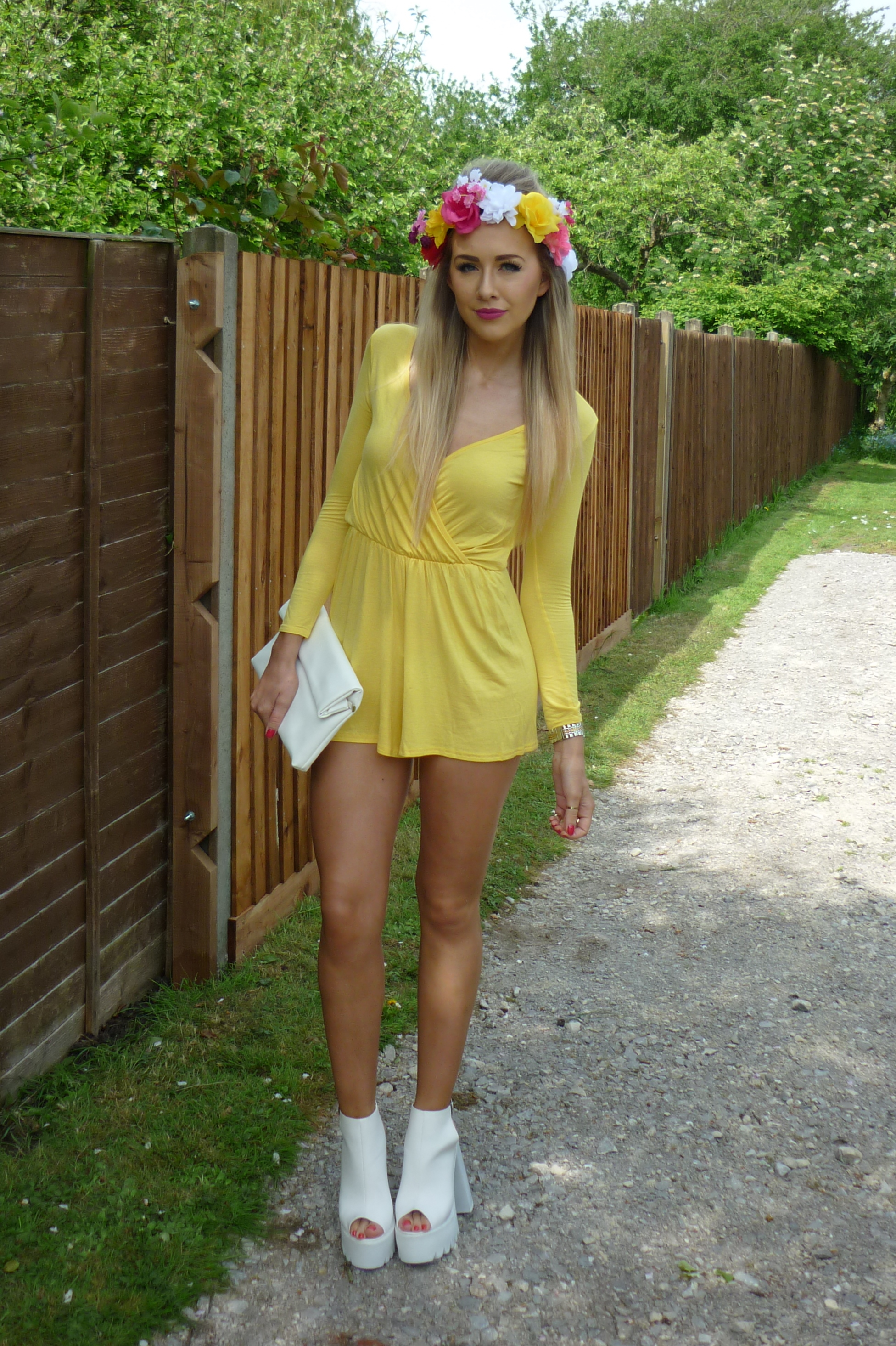 Pretty Little Thing Playsuit Review - LUCY LU ROSE